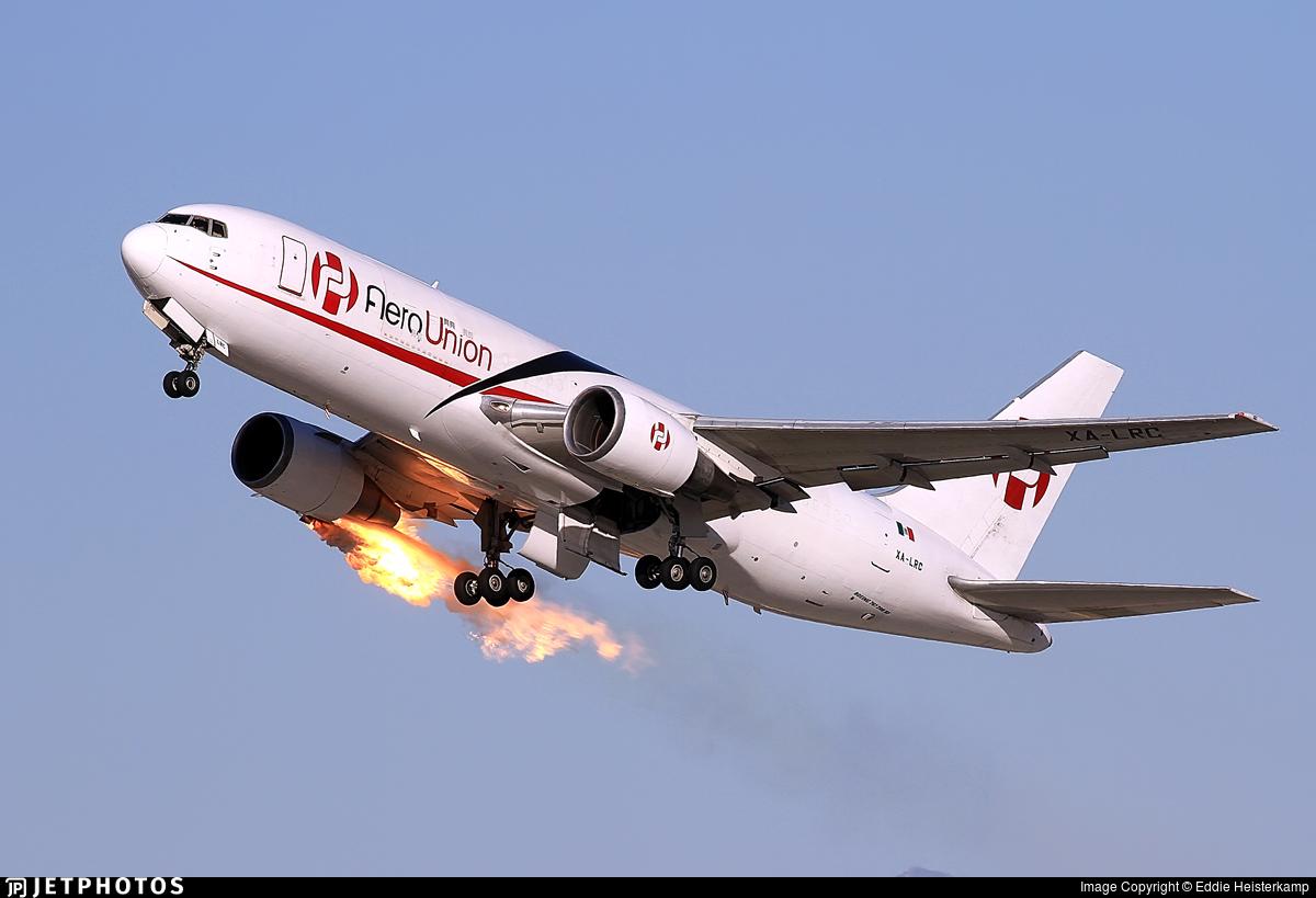 XA-LRC - Boeing 767-241(ER)(BDSF) - AeroUnión