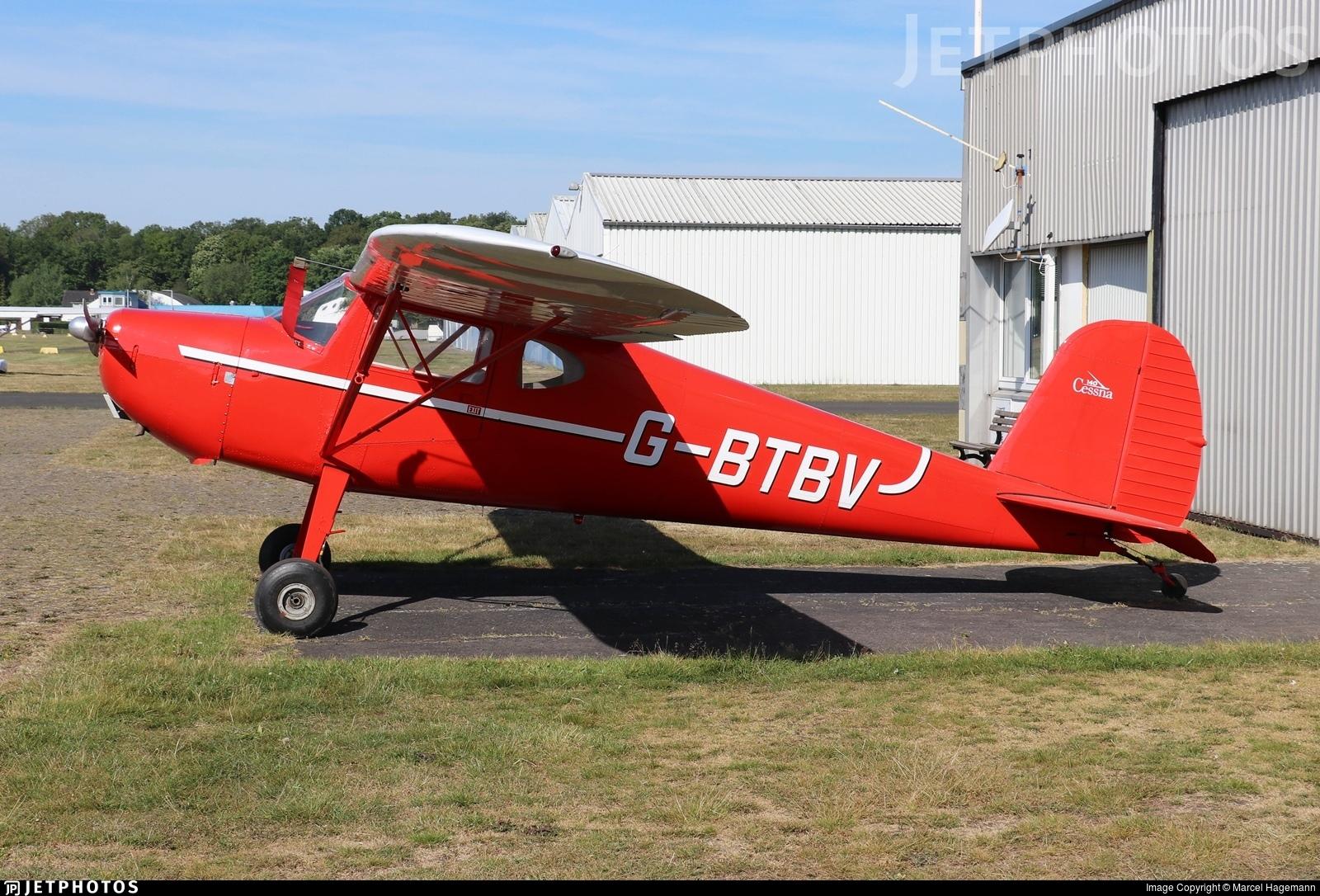 G-BTBV - Cessna 140 - Private