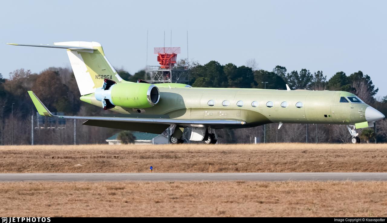 N529GA - Gulfstream G550 - Gulfstream Aerospace