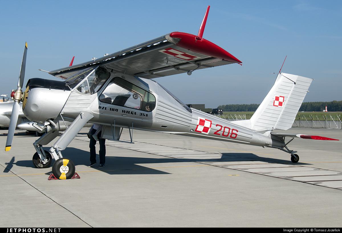 206 - PZL-Okecie 104 Wilga 35A - Poland - Air Force
