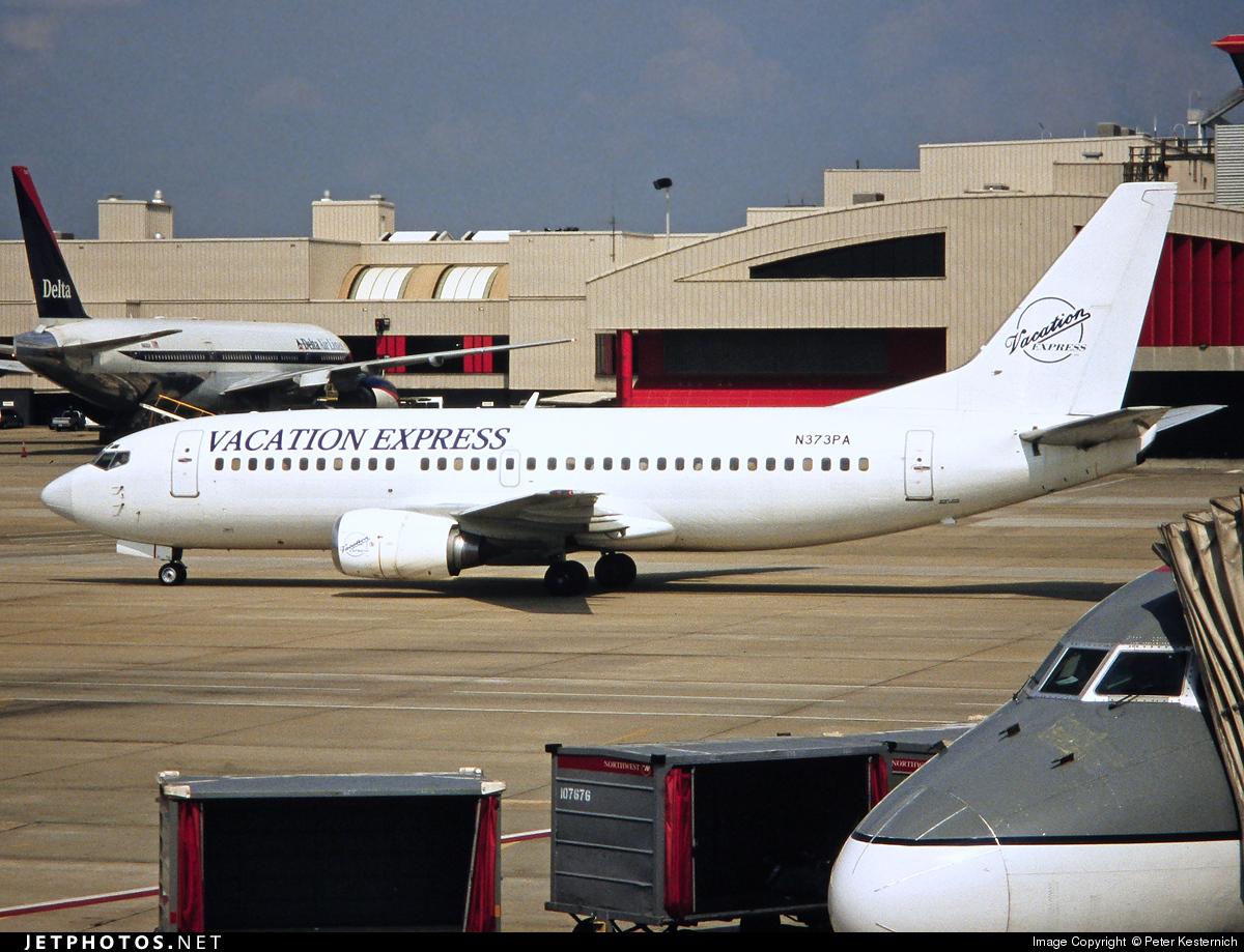 N373PA - Boeing 737-3Y0 - Pace Airlines