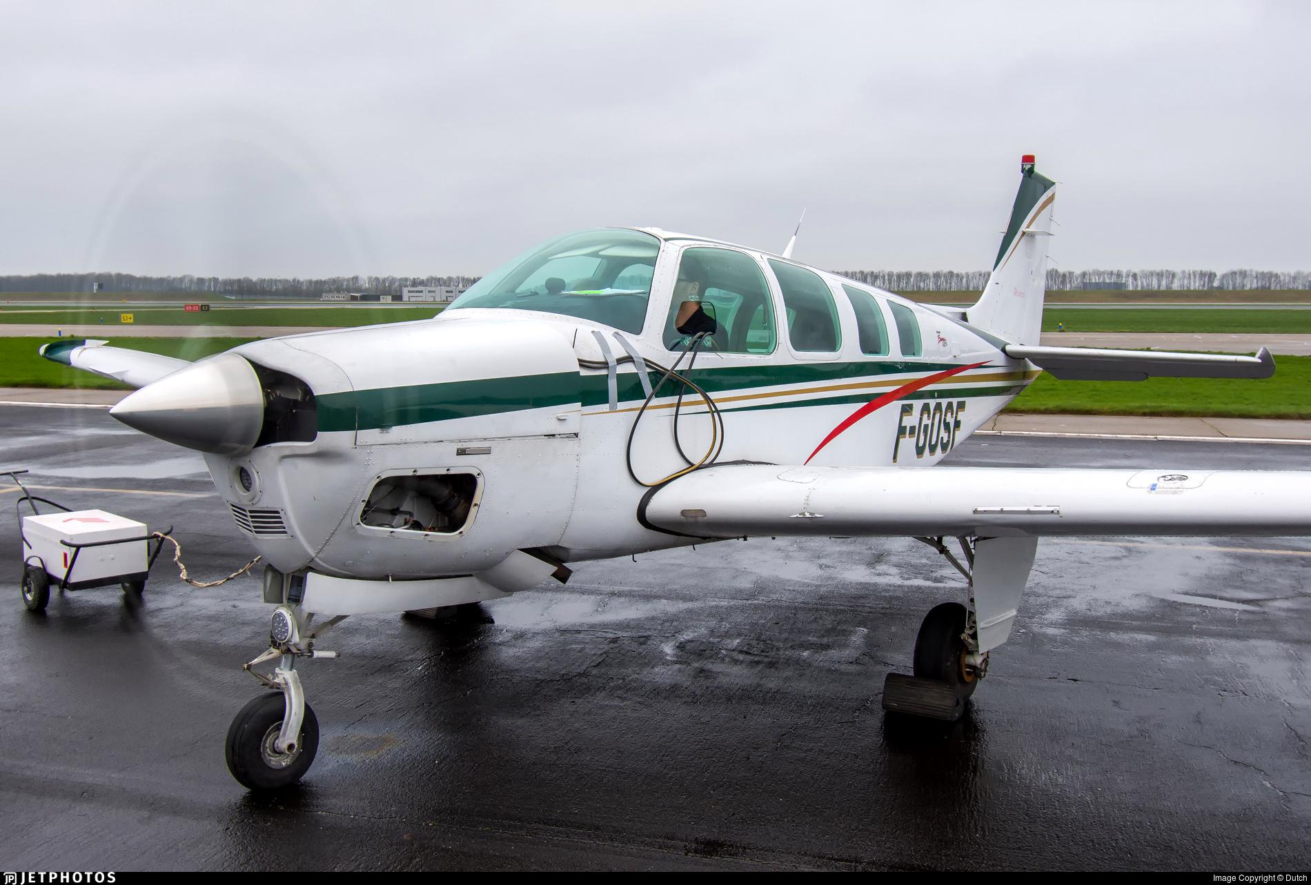F-GOSF | Beechcraft A36 Bonanza | Private | Dutch | JetPhotos