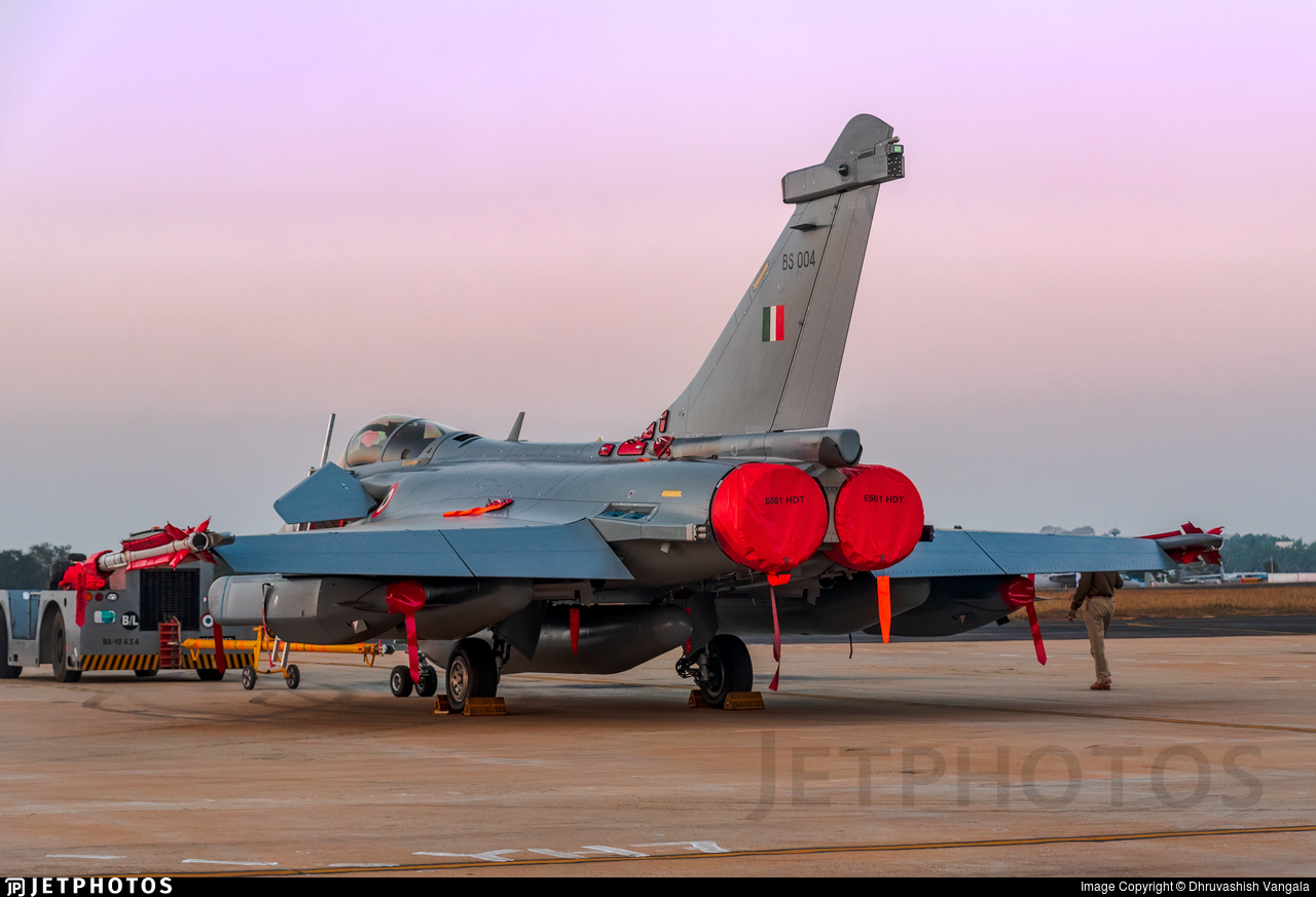 BS004 - Dassault Rafale EH - India - Air Force