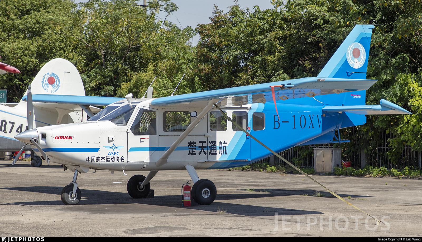 B-10XV - GippsAero GA8-TC320 - Aero Sports Federation of China