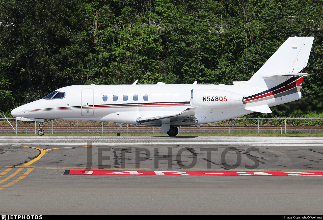 N548QS - Cessna Citation Latitude - NetJets Aviation