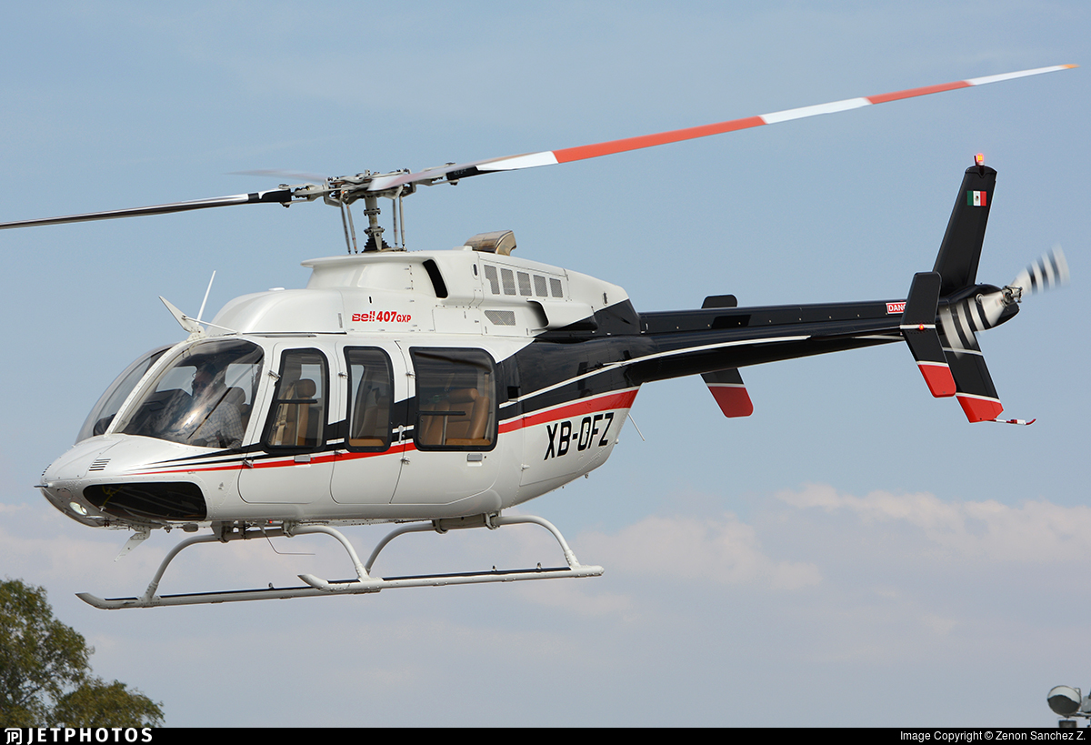 XB-OFZ - Bell 407GXP - Private