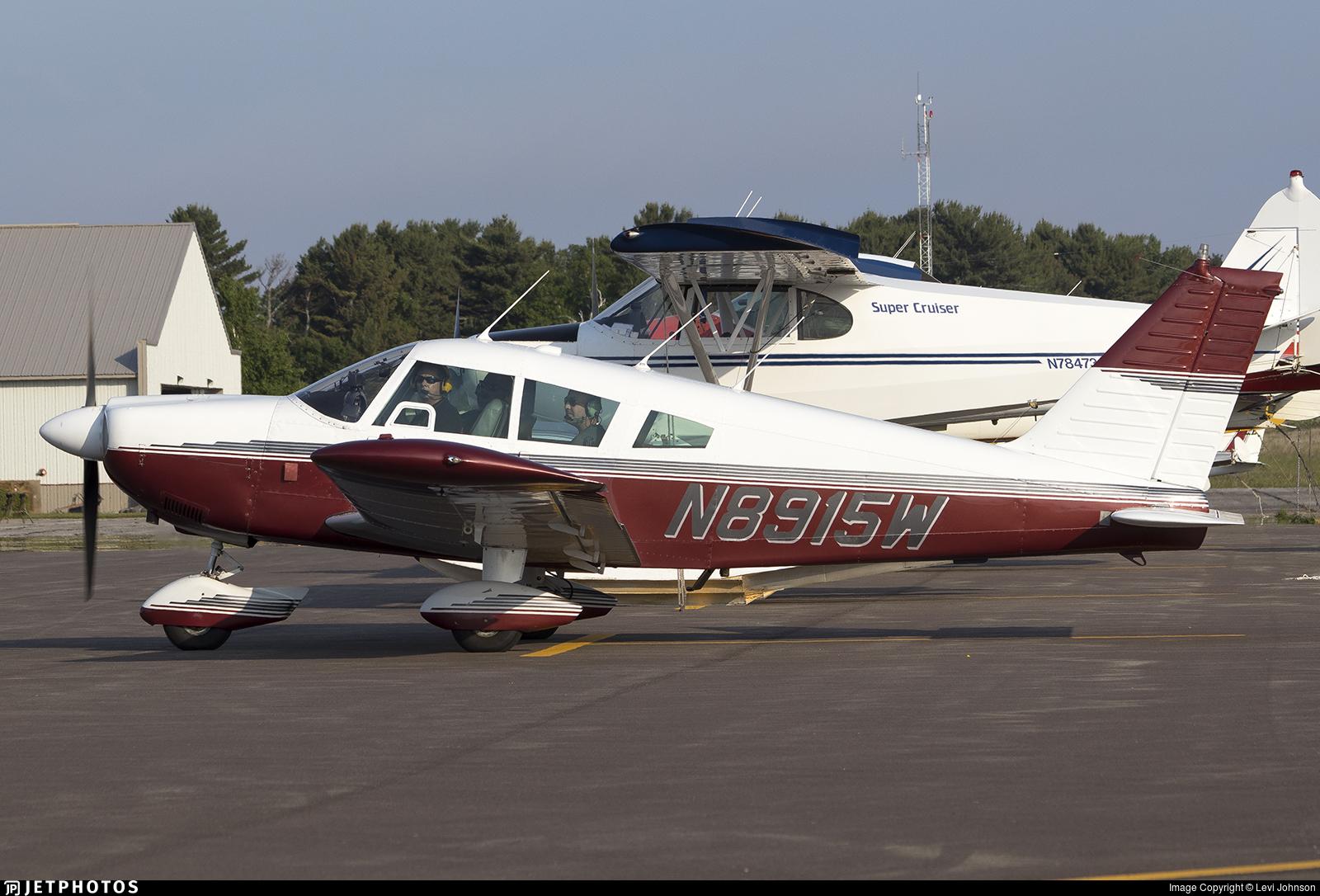 N8915W | Piper PA-28-235 Cherokee | Private | Levi Johnson | JetPhotos