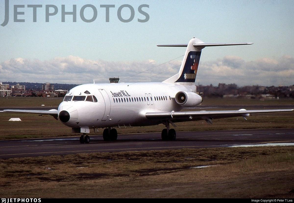 VH-FKJ - Fokker F28-4000 Fellowship - Ansett W.A.
