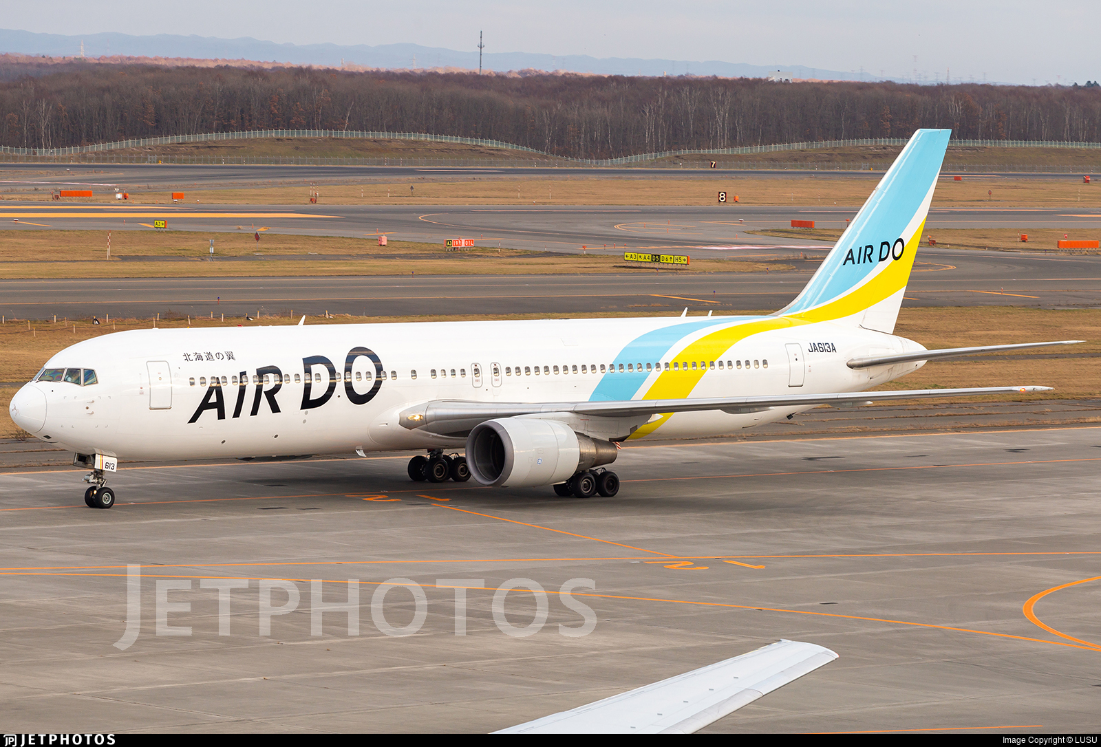 JA613A - Boeing 767-381(ER) - Air Do (Hokkaido International Airlines)