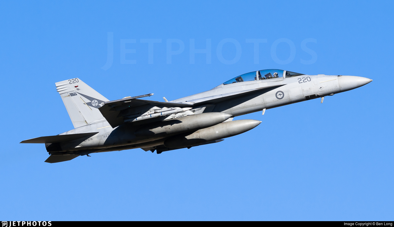 A44-220 - Boeing F/A-18F Super Hornet - Australia - Royal Australian Air Force (RAAF)
