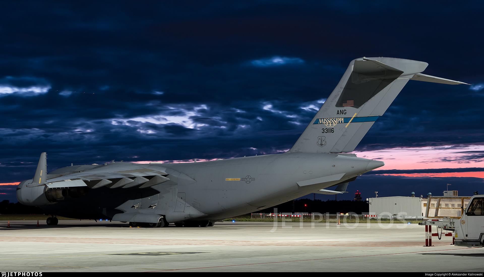 03-3116 - Boeing C-17A Globemaster III - United States - US Air Force (USAF)