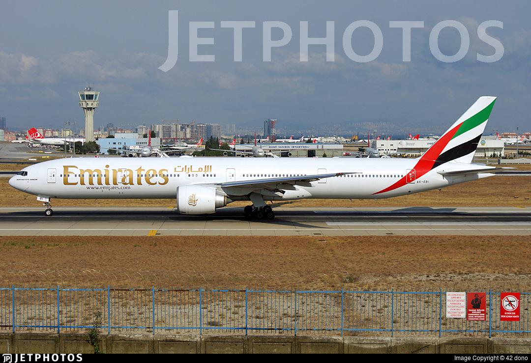A6-EBI - Boeing 777-36NER - Emirates