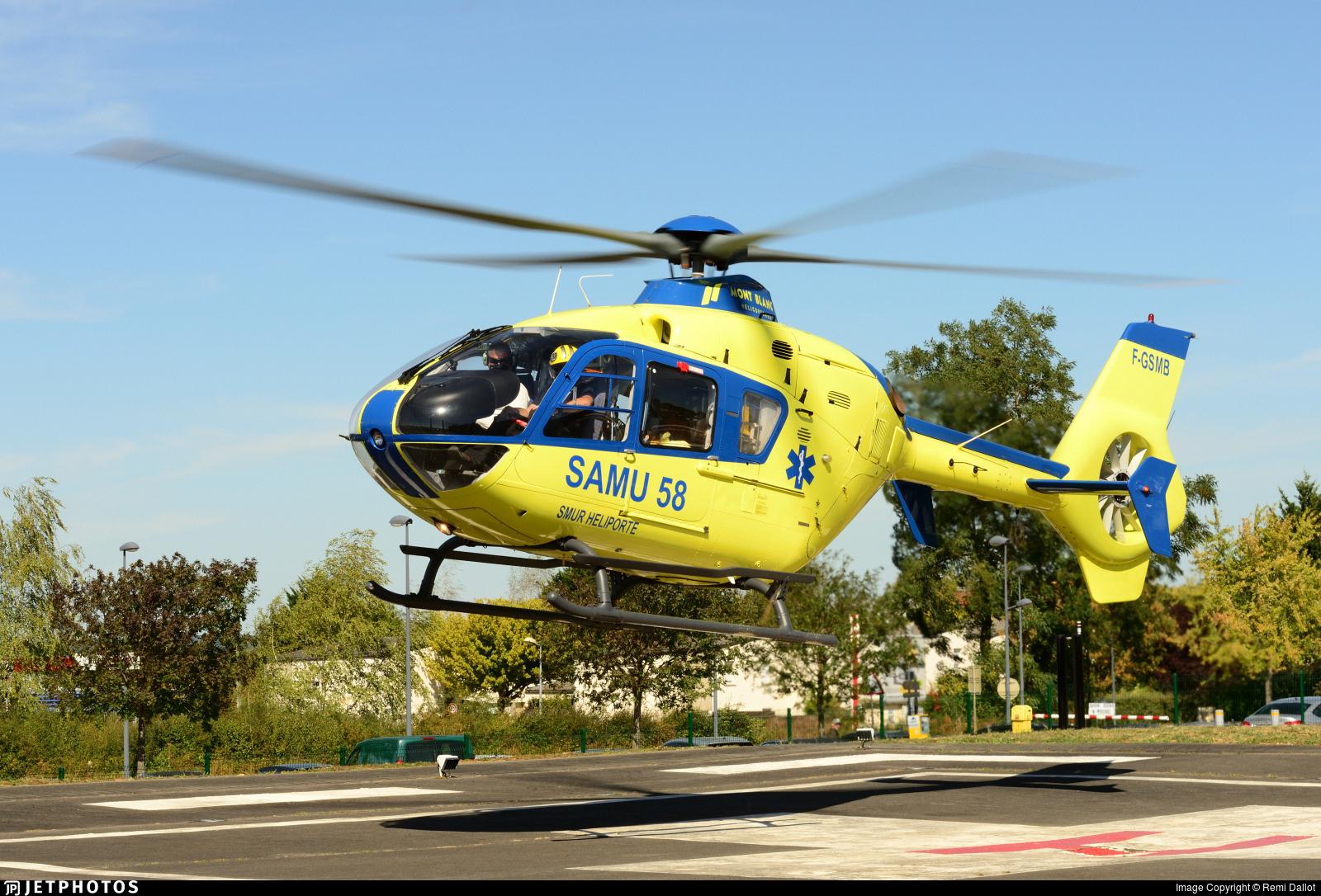 F-GSMB - Eurocopter EC 135T1 - Mont Blanc H�licopt�res
