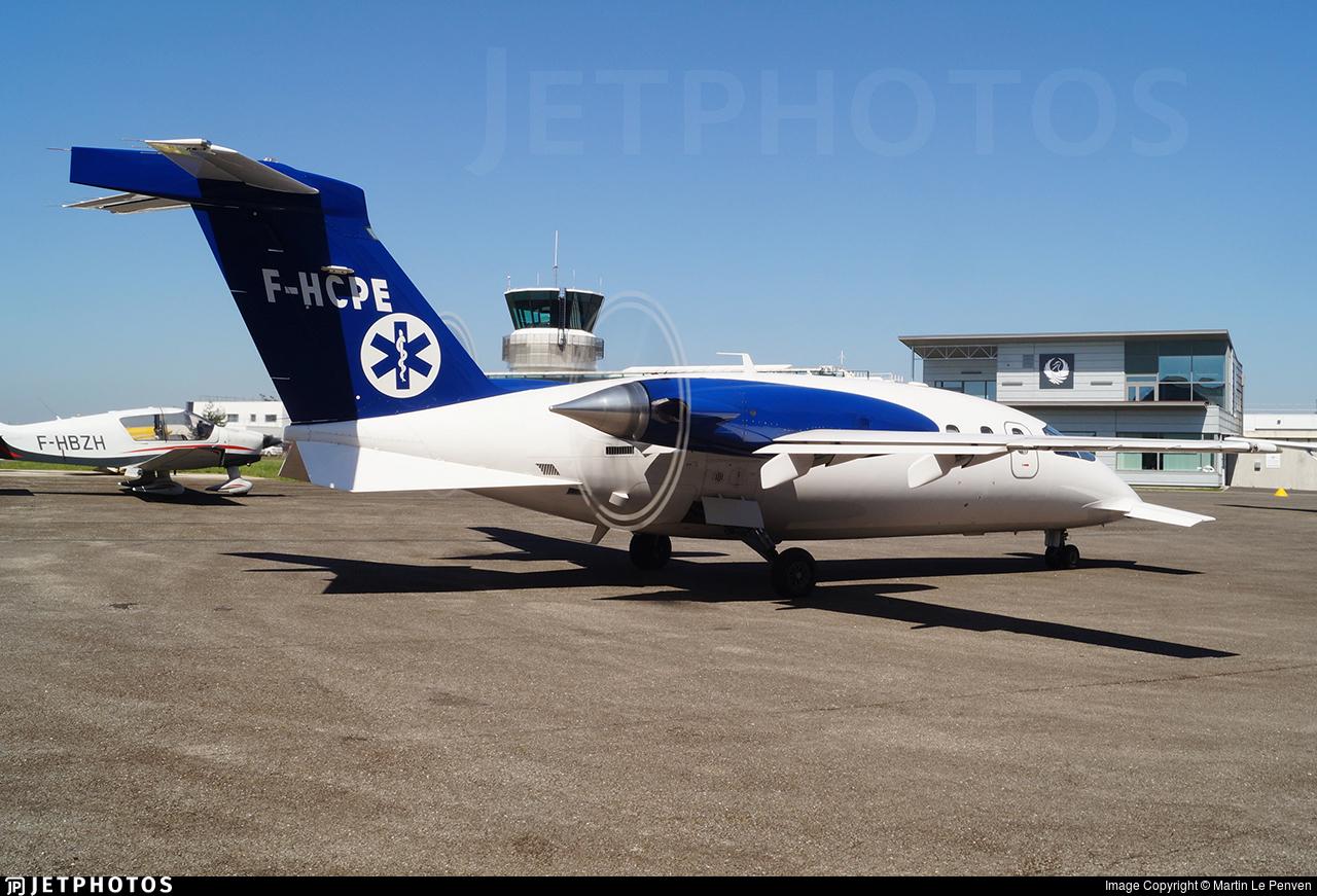 F-HCPE - Piaggio P-180 Avanti - Oyonnair