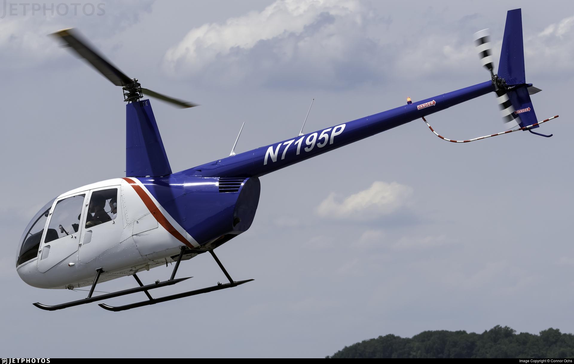 N7195P - Robinson R44 Raven - Private