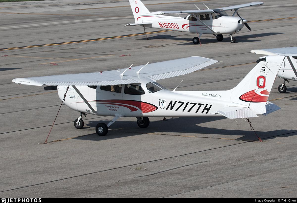 N717TH - Cessna 172S Skyhawk - Ohio State University