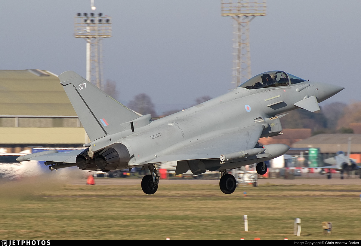 ZK377 - Eurofighter Typhoon FGR.4 - United Kingdom - Royal Air Force (RAF)