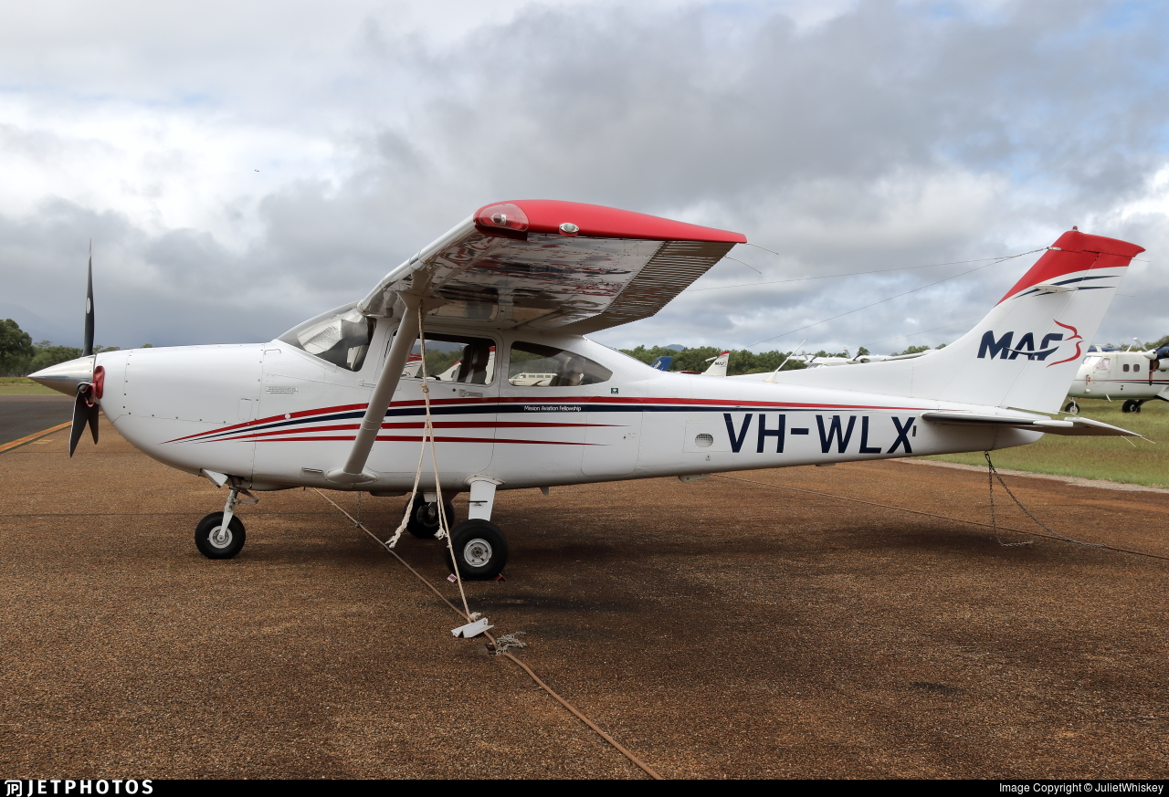 VH-WLX - Cessna 182T Skylane - Mission Aviation Fellowship (MAF)