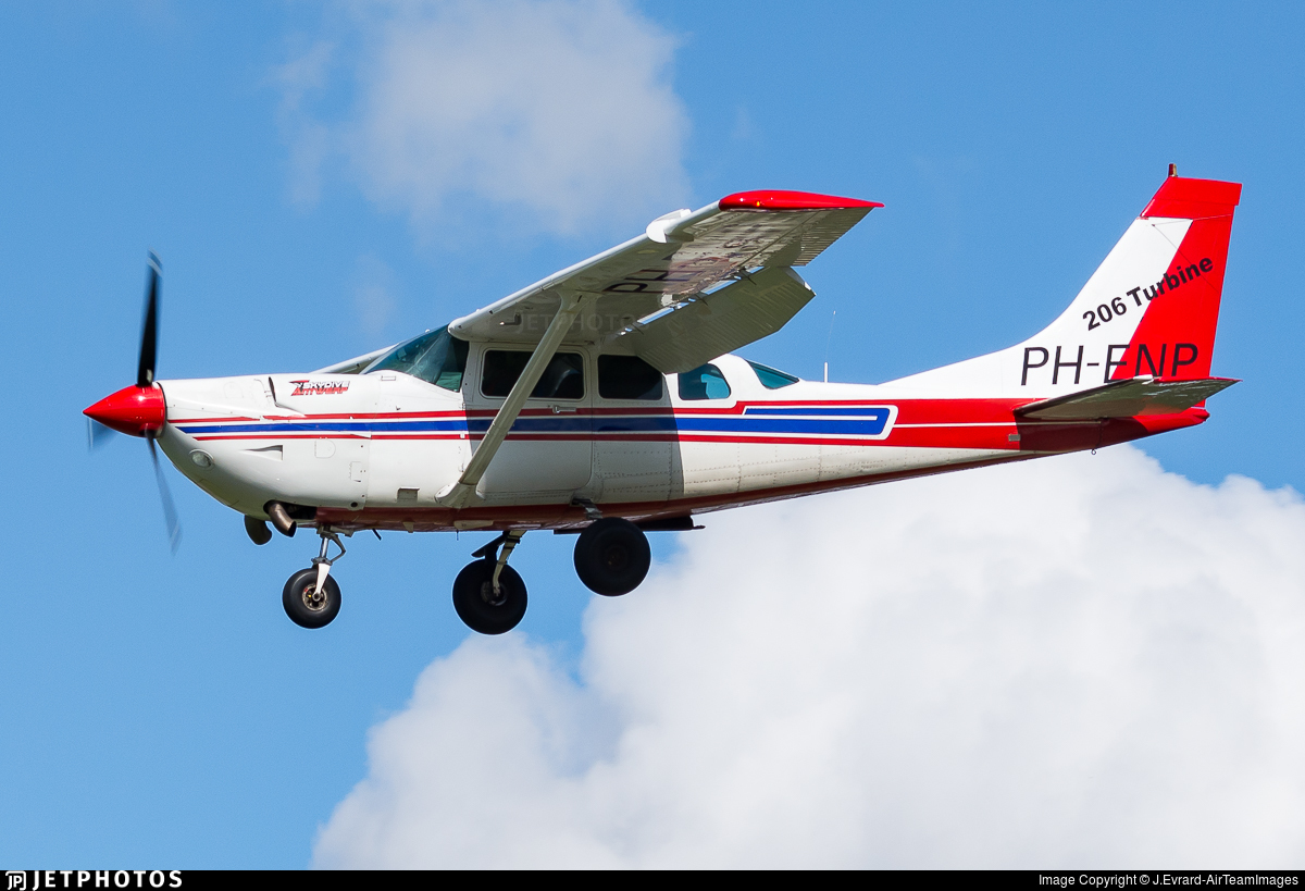 PH-ENP - Cessna U206G Stationair Soloy - Private