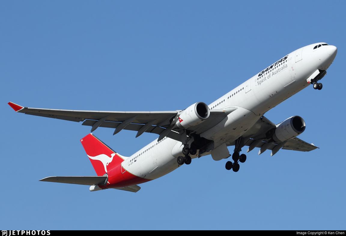 VH-QPA - Airbus A330-301 - Qantas