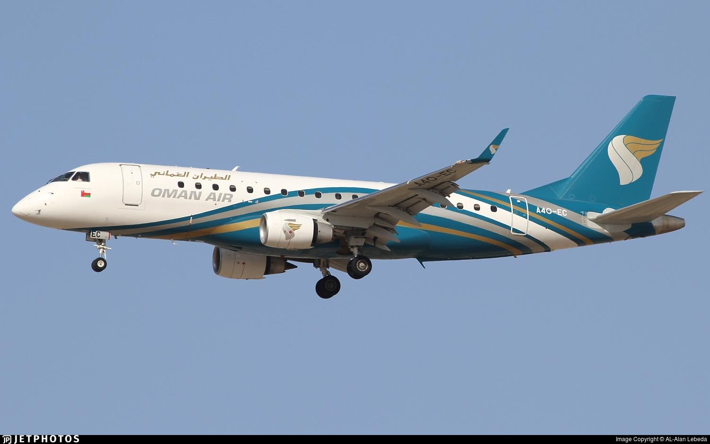 A4O-EC - Embraer 170-200LR - Oman Air