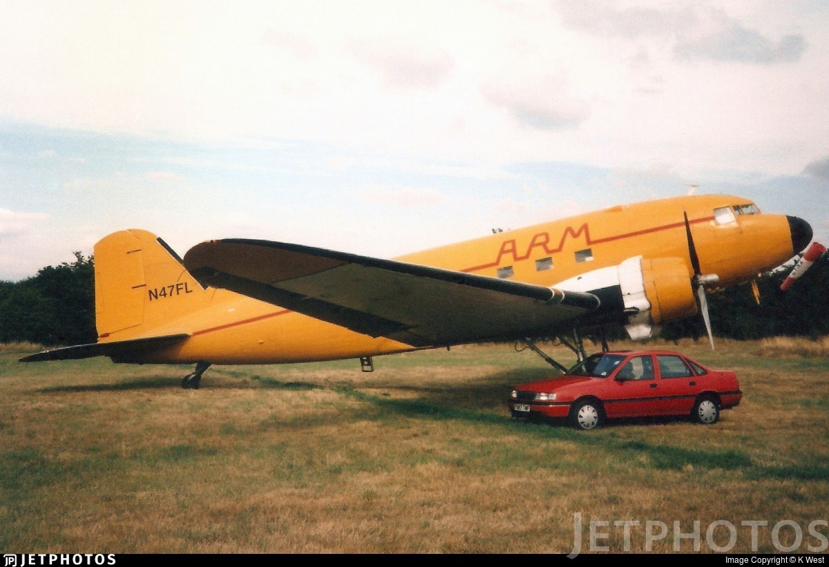 N47FL - Douglas C-47A Skytrain - Private