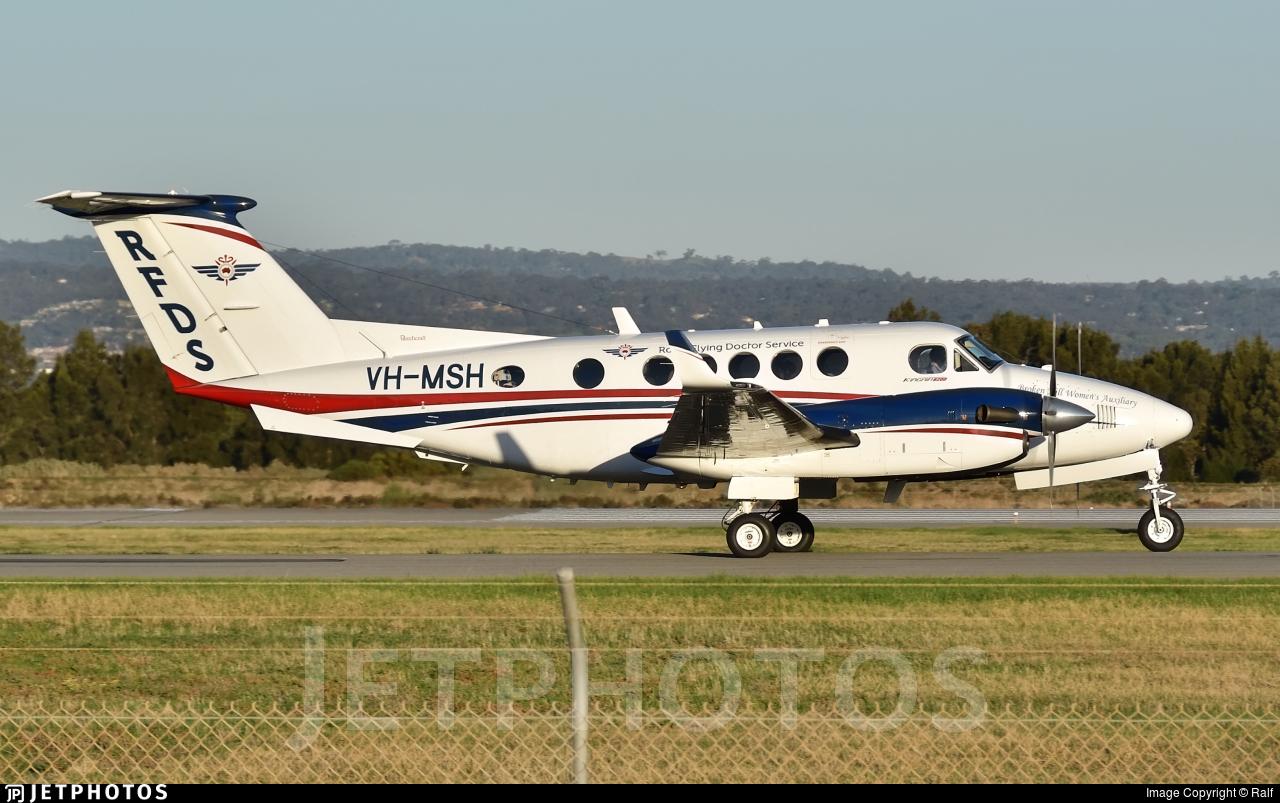 VH-MSH - Beechcraft B200 Super King Air - Ambulance Service of NSW (RFDS)