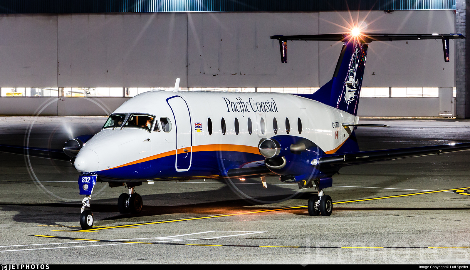 C-GPCL - Beech 1900D - Pacific Coastal Airlines