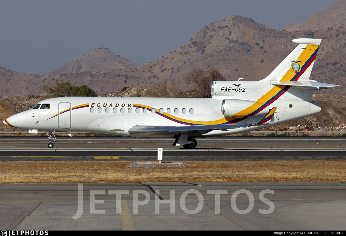 FAE-052 - Dassault Falcon 7X - Ecuador - Air Force