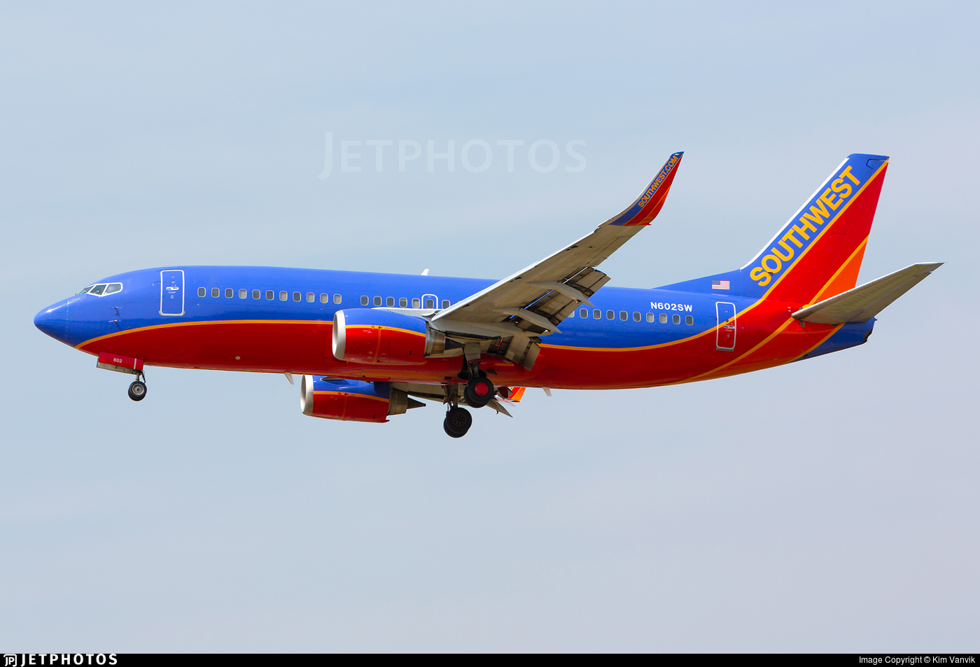 N602SW - Boeing 737-3H4 - Southwest Airlines