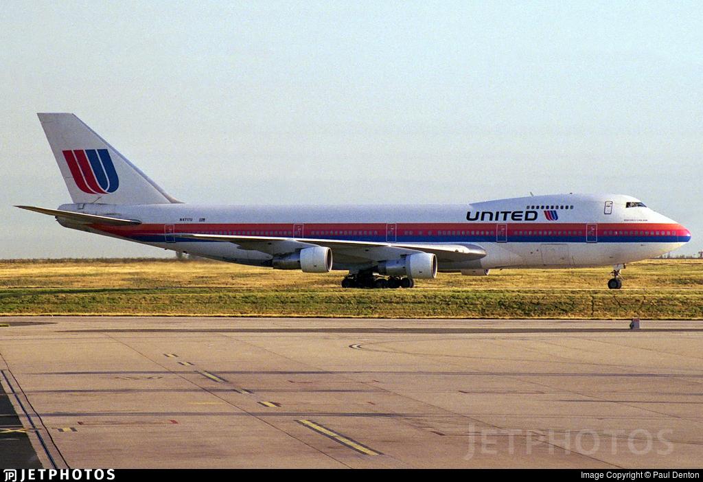 N4717U - Boeing 747-122 - United Airlines