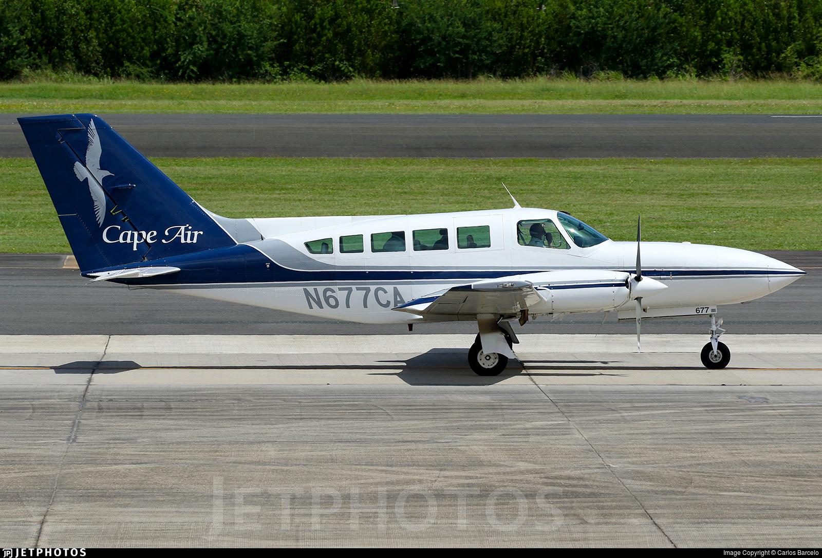 N677CA - Cessna 402C - Cape Air