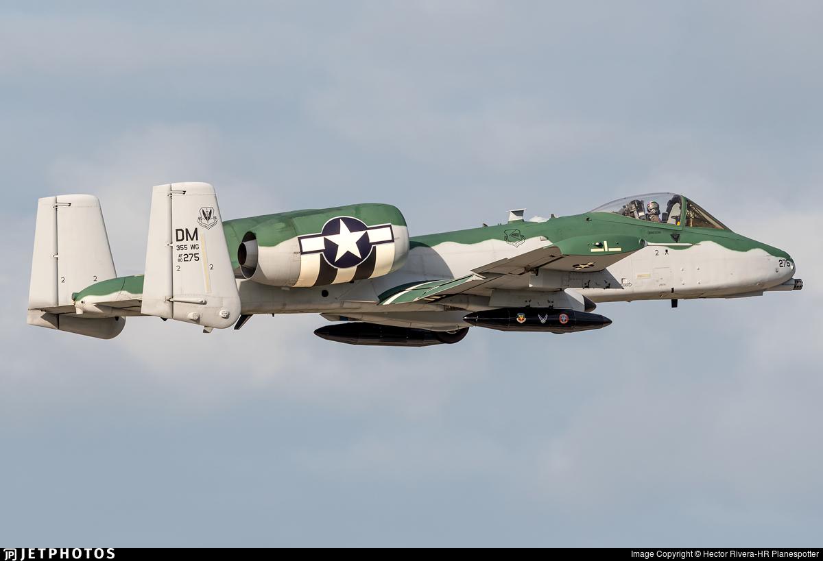 80-0275 - Fairchild A-10C Thunderbolt II - United States - US Air Force (USAF)