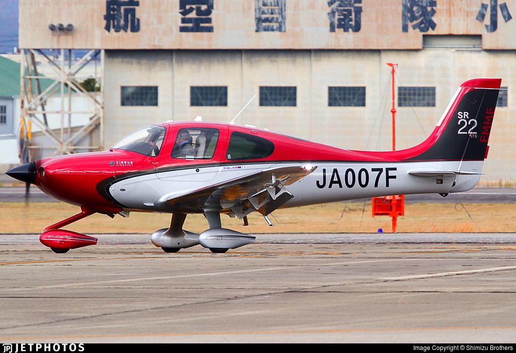 JA007F - Cirrus SR22-GTS - Private