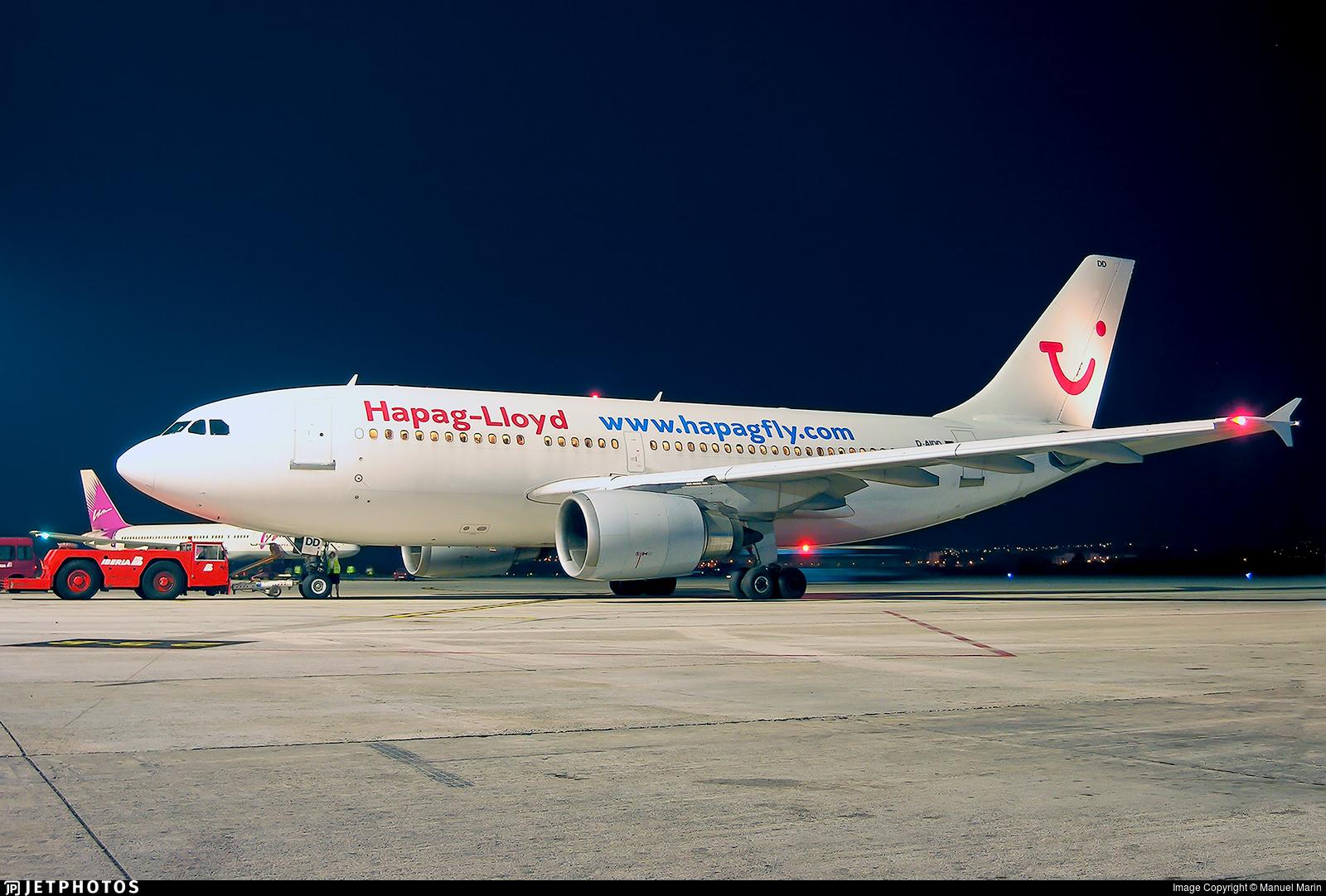 D-AIDD - Airbus A310-304 - Hapag-Lloyd