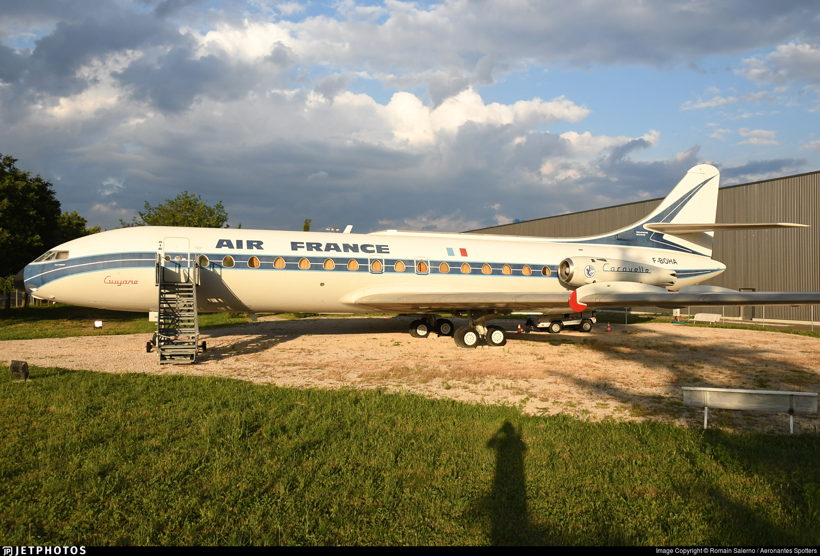 F-BOHA - Sud Aviation SE 210 Caravelle III - Air France