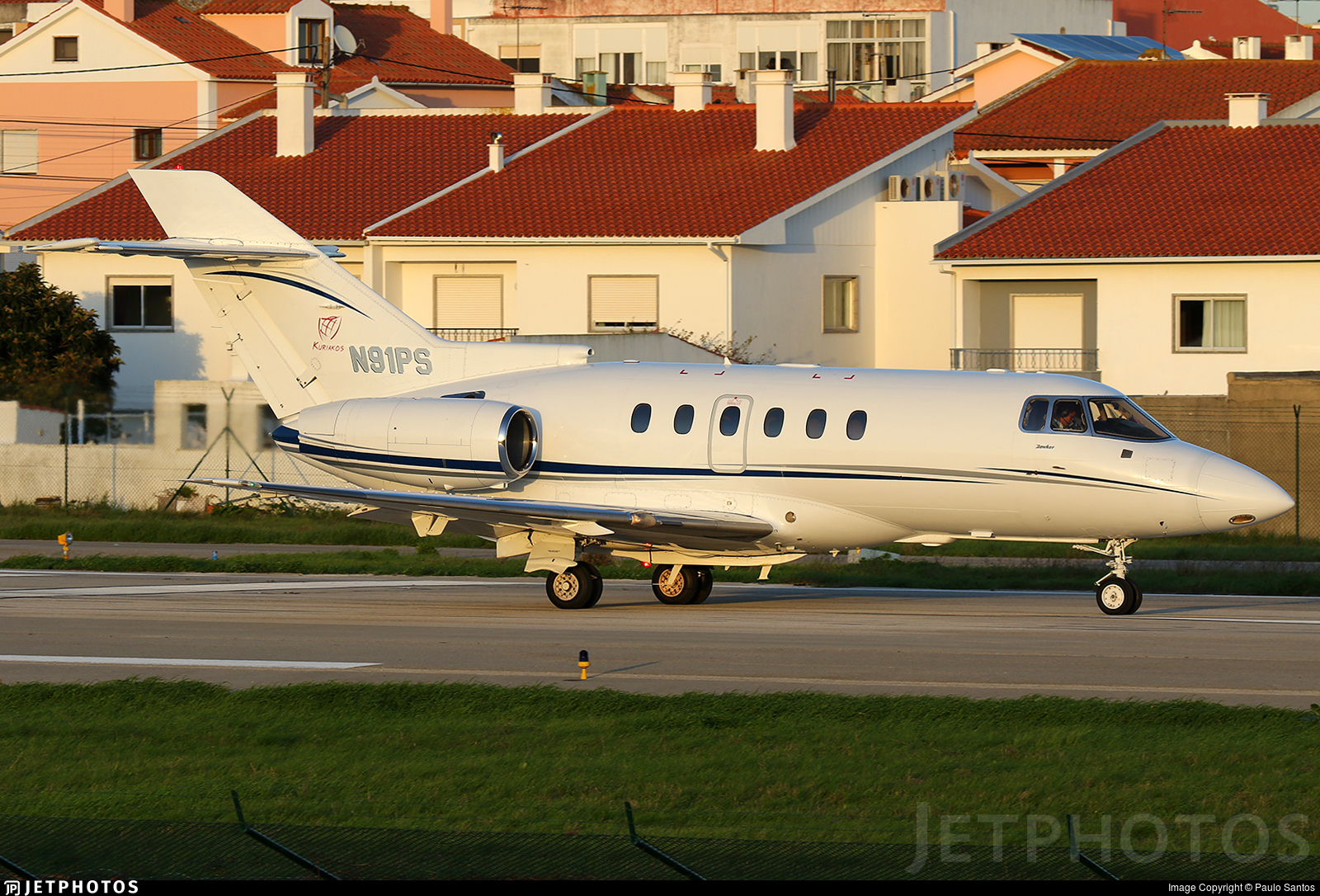 N91PS - Raytheon Hawker 800XP - Private