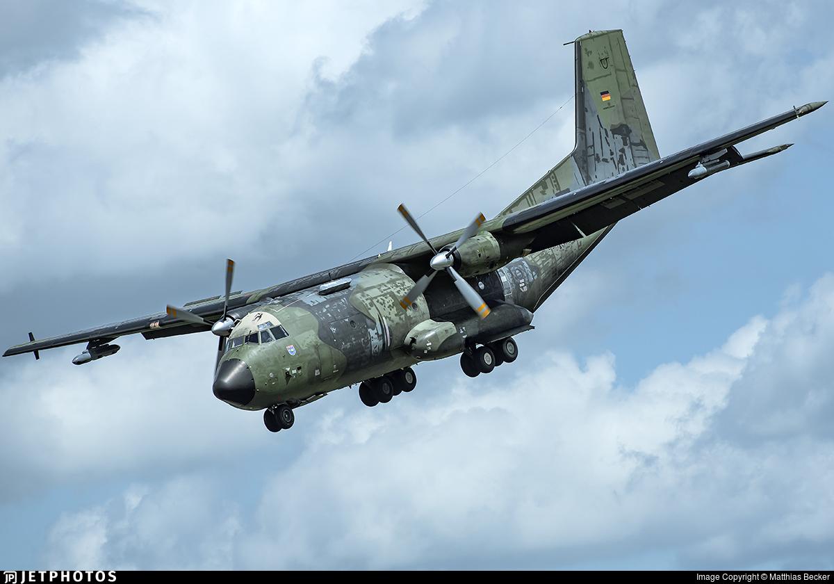 50-83 - Transall C-160D - Germany - Air Force