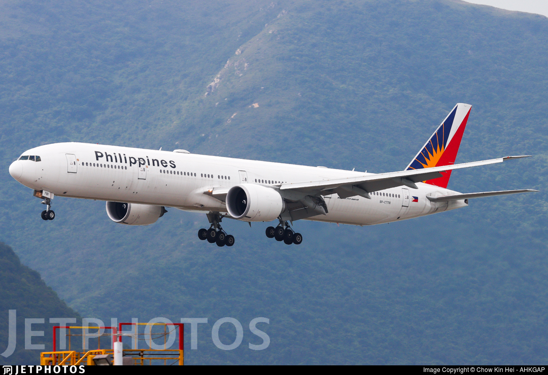 RP-C7781 - Boeing 777-3F6ER - Philippine Airlines