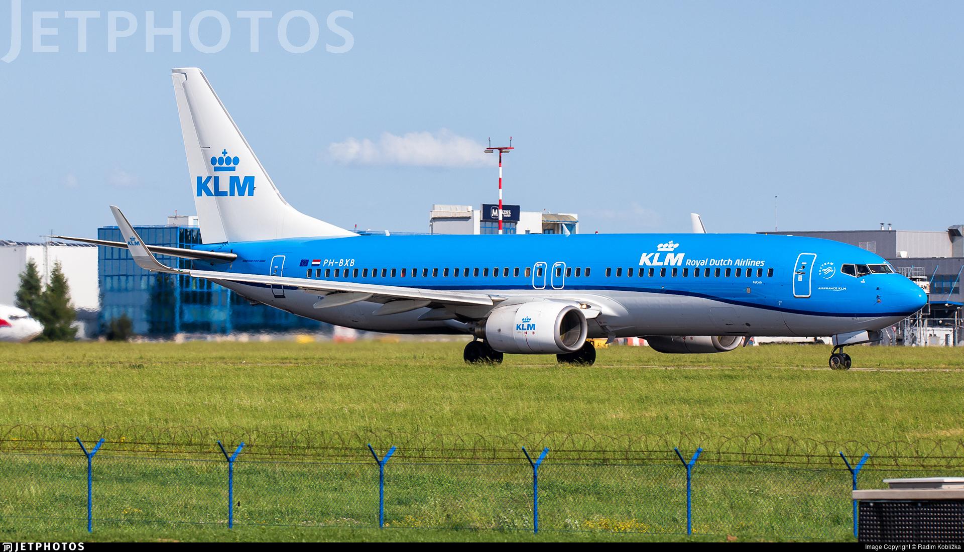 PH-BXB - Boeing 737-8K2 - KLM Royal Dutch Airlines