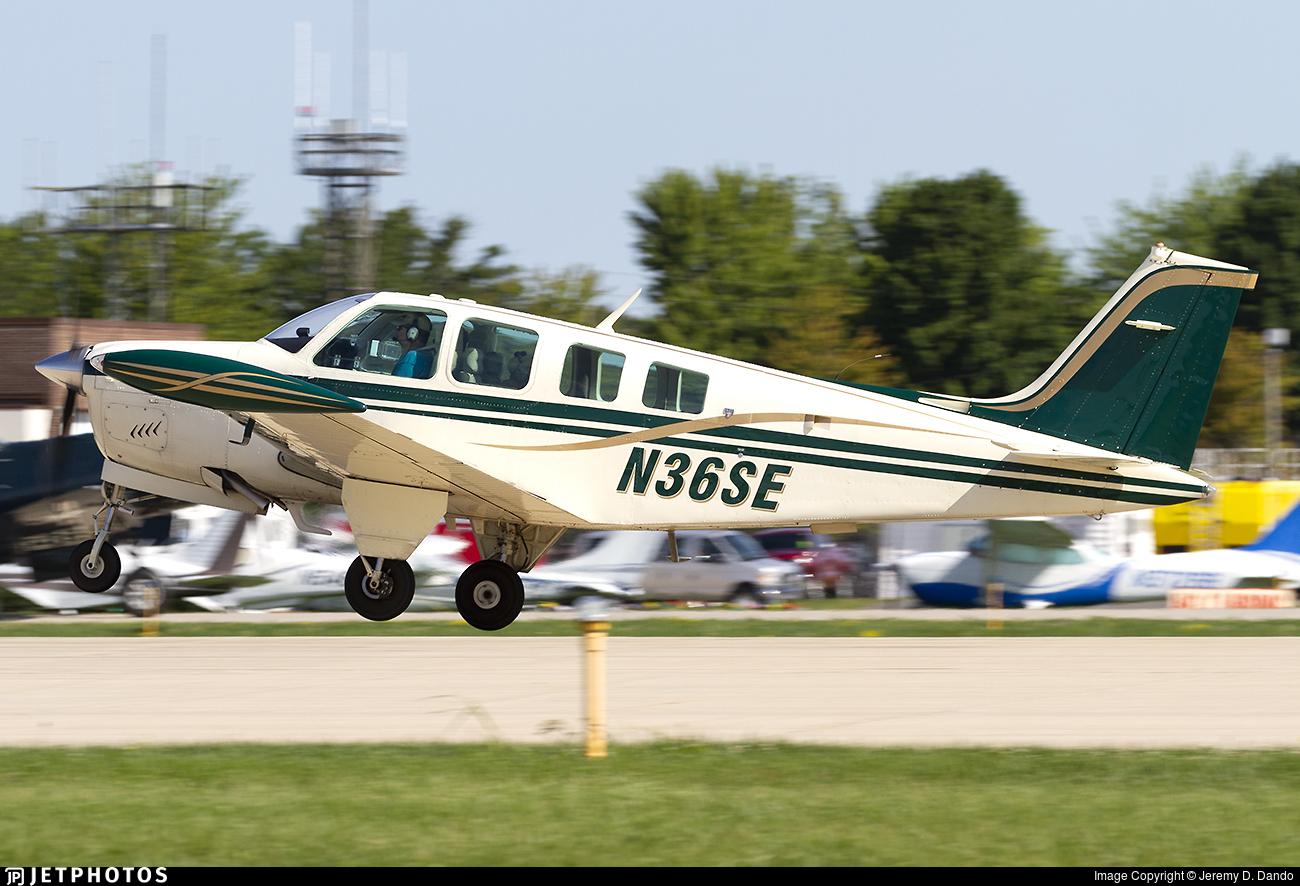 N36SE - Beechcraft A36 Bonanza - Private