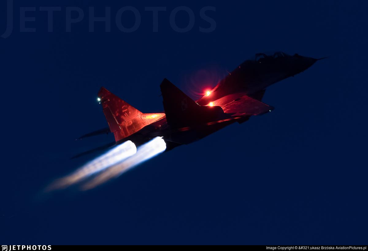 4123 | Mikoyan-Gurevich MiG-29UB Fulcrum | Poland - Air Force ...