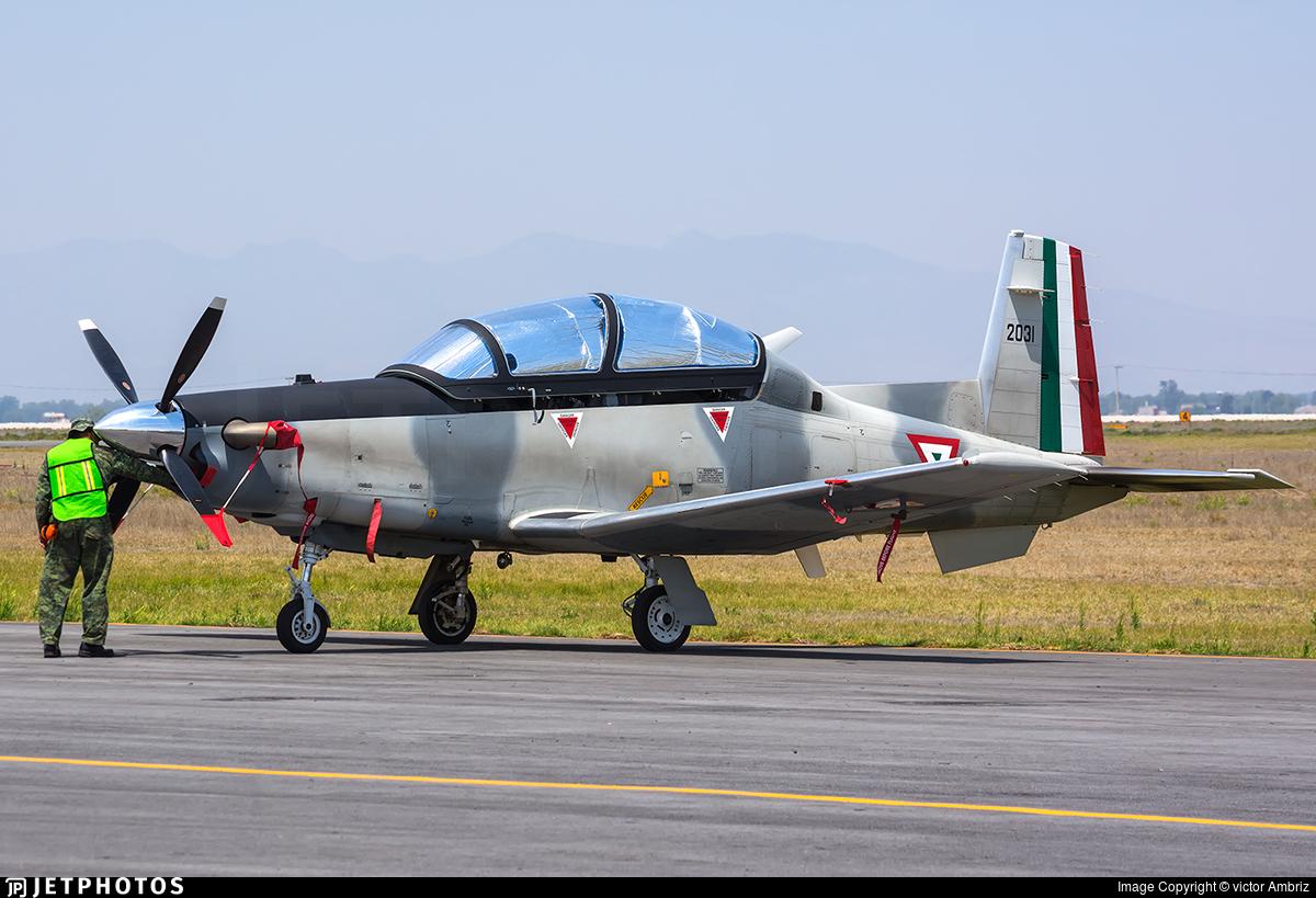 2031 - Hawker Beechcraft T-6A Texan II - Mexico - Air Force
