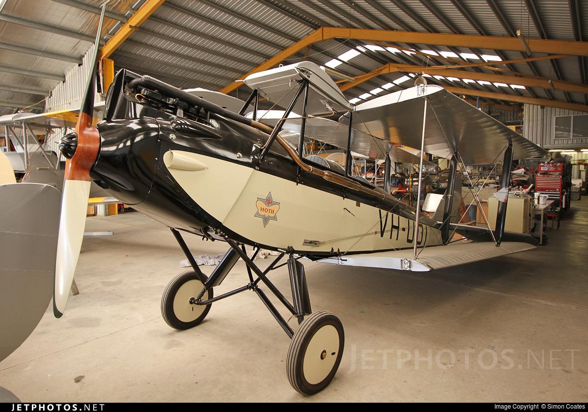 VH-UOI - De Havilland DH-60M - Private