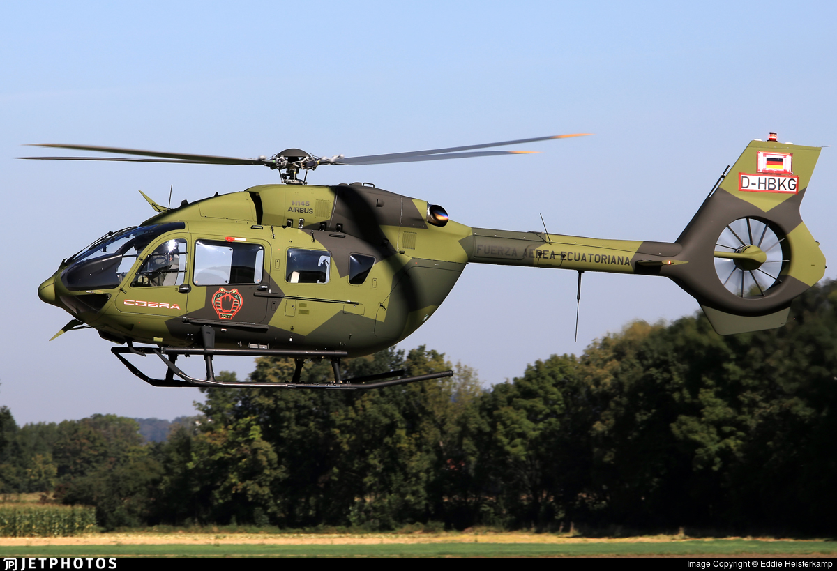 D-HBKG - Airbus Helicopters H145M - Ecuador - Air Force