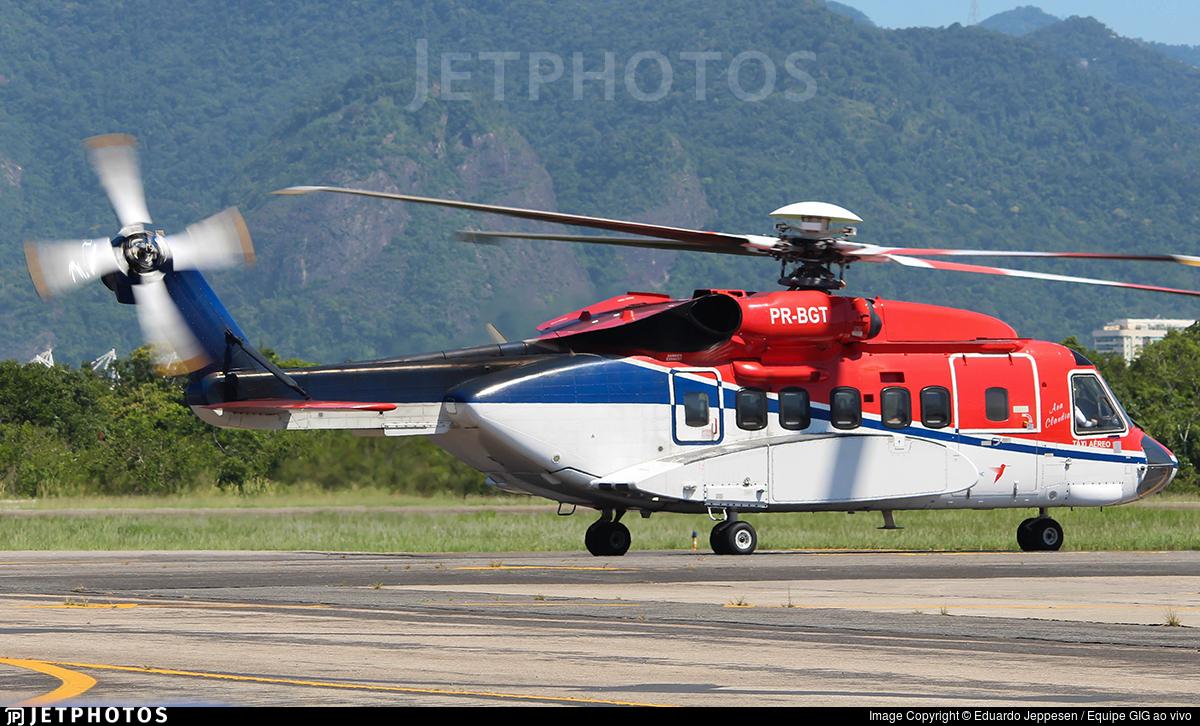 PR-BGT - Sikorsky S-92A Helibus - CHC do Brasil Taxi Aereo