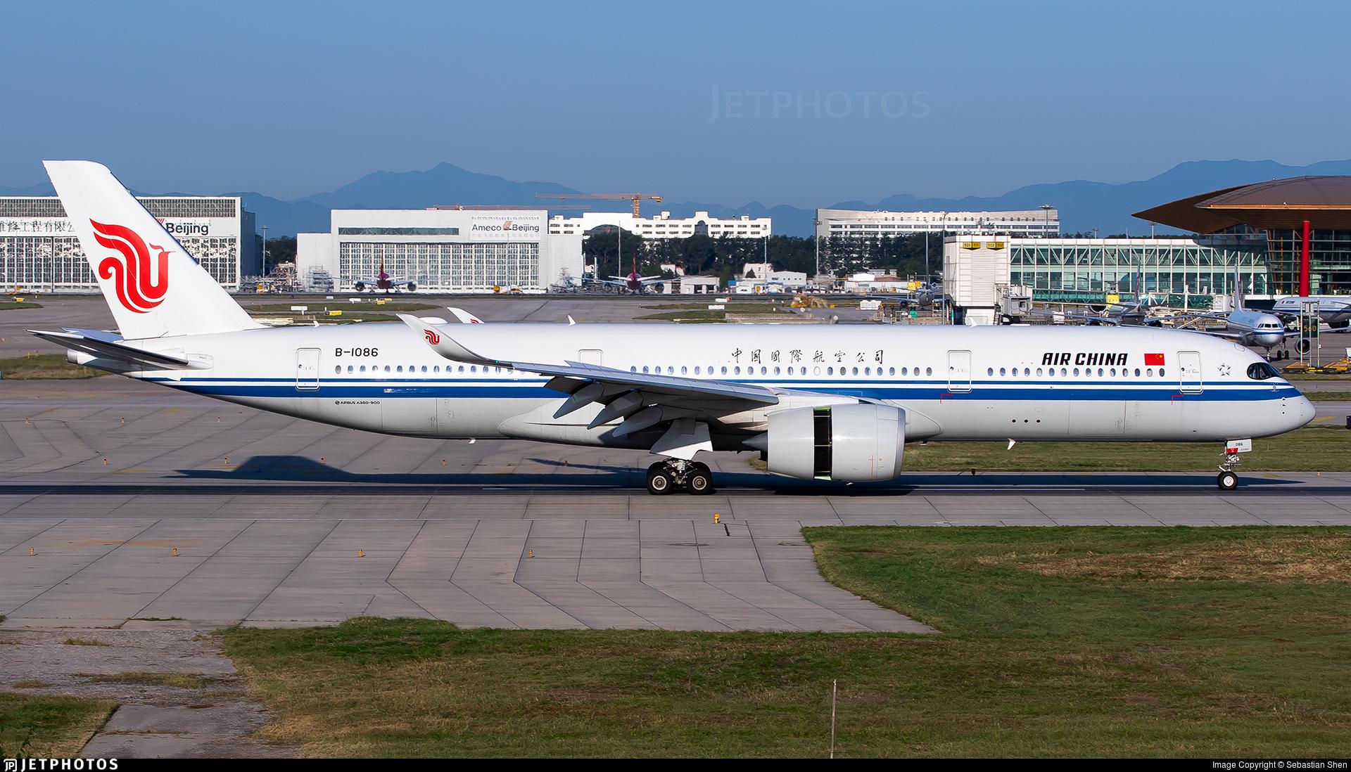 B-1086 - Airbus A350-941 - Air China