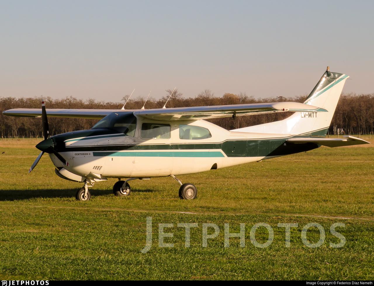 LV-MTT - Cessna 210L Centurion II - Private