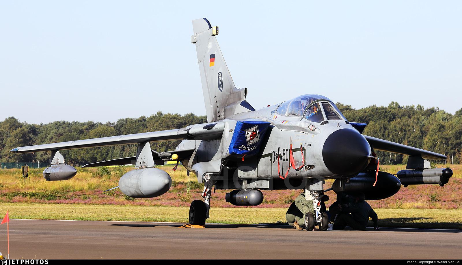 43-50 - Panavia Tornado IDS - Germany - Air Force