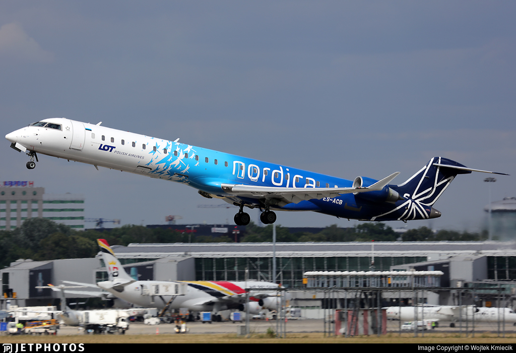 ES-ACB | Bombardier CRJ-900ER | LOT Polish Airlines (Nordica